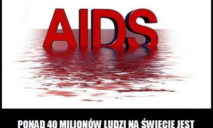 Ile osób zarażonych jest wirusem HIV?