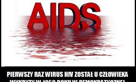 Kiedy po raz pierwszy wykryto wirus HIV?