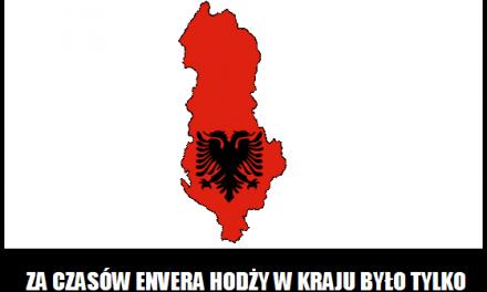 Ile samochodów było w Albanii za czasów panowania Envera Hodży?