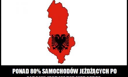 Jaka marka samochodów jest najpopularniejsza w Albanii?