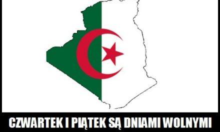 Jakie dni w Algierii są wolne od pracy?