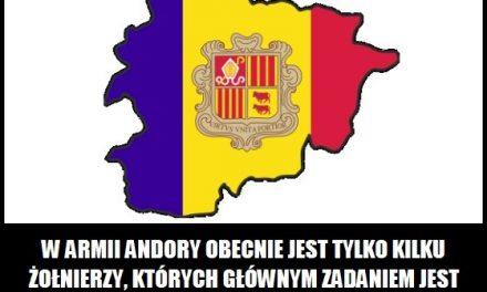 Ilu żołnierzy jest w armii Andory?