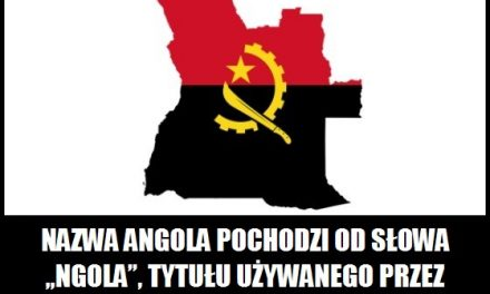 Co oznacza nazwa Angola?
