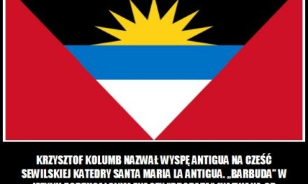 Co oznacza nazwa Antigua, co Barbuda?