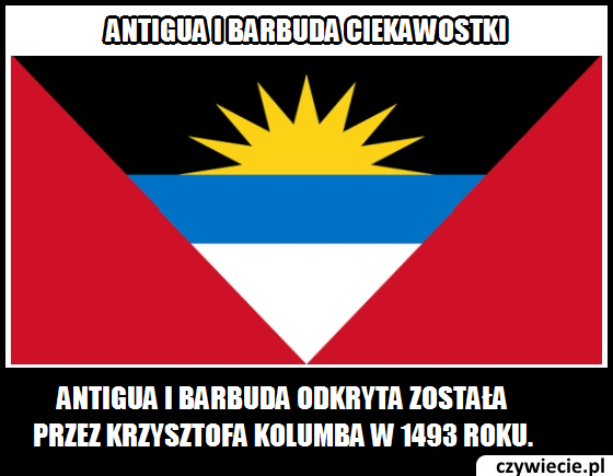 Antigua i Barbuda ciekawostka 3