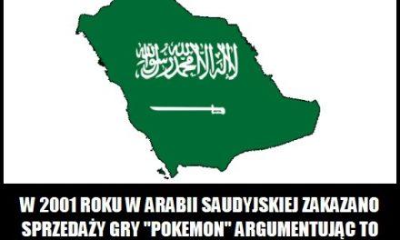 """Dlaczego w Arabii Saudyjskiej zakazano sprzedaży gry """"Pokemon""""?"""