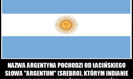 Co oznacza nazwa Argentyna?