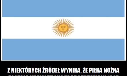 Czy to prawda, że piłka nożna została wynaleziona w Argentynie?