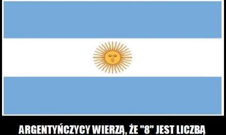 Jaką cyfra w Argentynie uznawana jest za liczbę diabła?