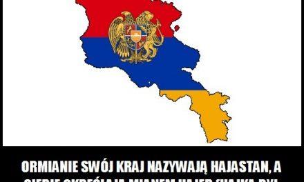 Jak Ormianie nazywają swój kraj?