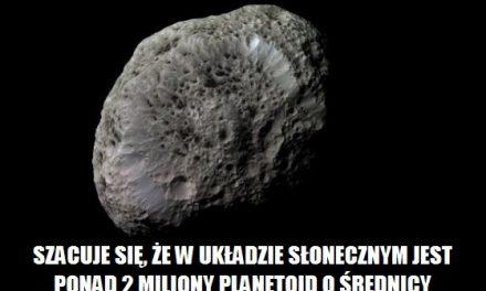 Ile jest w Układzie Słonecznym planetoid o średnicy większej niż 1 km?