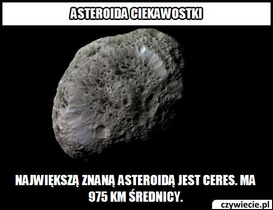 Asteroida ciekawostka 2
