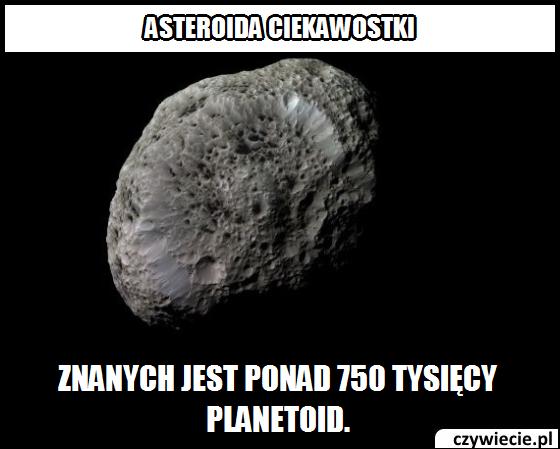 Ile jest znanych planetoid?
