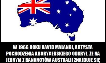 Jaką nagrodę otrzymał aborygen za rysunek, który użyty został na australijskim banknocie?