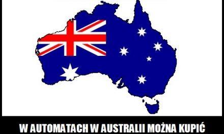 Co można kupić w automatach w Australii?