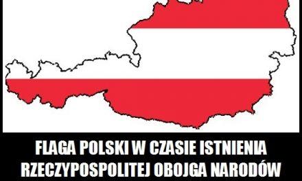 Jaki kraj miał podobną flagę do polskiej?