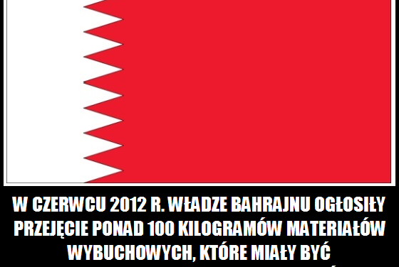 Co przechwyciły władze Bahrajnu w czerwcu 2012 roku?