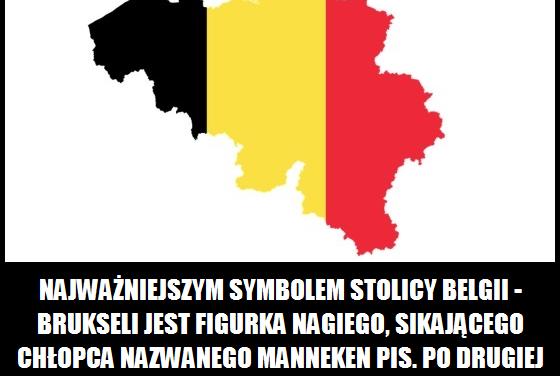 Jaka figurka jest najważniejszym symbolem stolicy Belgii?
