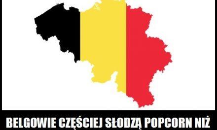 Belgowie częściej słodzą popcorn niż solą