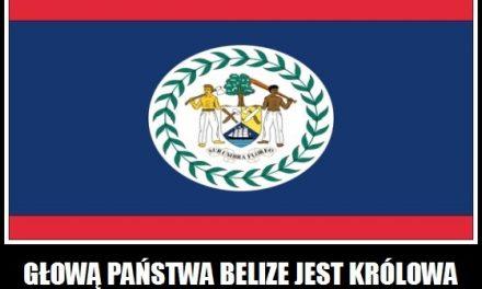 Kim jest głowa państwa Belize?