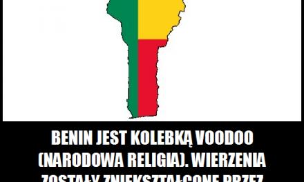 Benin ciekawostka 5