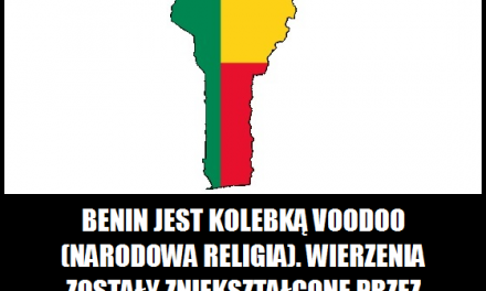 Benin jest kolebką voodoo?