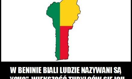Jak w Beninie nazywani są biali ludzie?