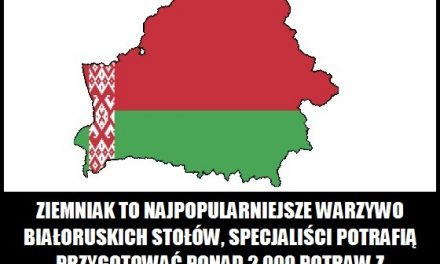Jakie warzywo jest najpopularniejsze na Białorusi?