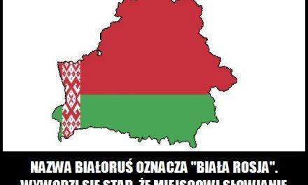 Co oznacza nazwa Białoruś?