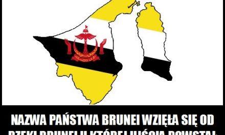 Skąd pochodzi nazwa Brunei?
