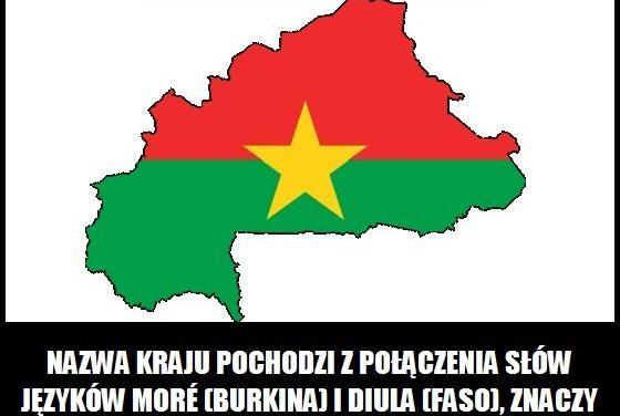 Co oznacza nazwa Burkina Faso?