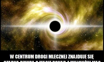 Co znajduje się w centrum Drogi Mlecznej?