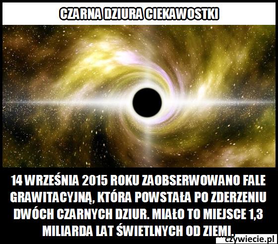 Możliwe jest zderzenie dwóch czarnych dziur?
