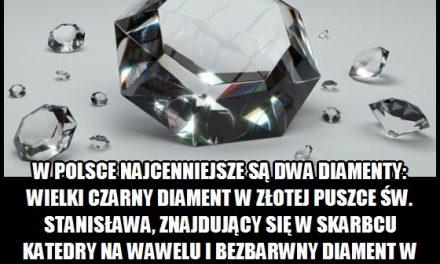 Jakie najcenniejsze diamenty znajdują się w Polsce?