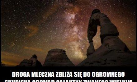 Z jaką prędkością Droga Mleczna zbliża się do Wielkiego Atraktora?