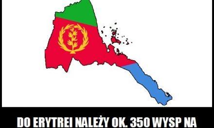 Ile wysp Erytrei znajduje się na Morzu Czerwonym?