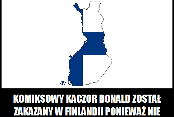 Dlaczego Kaczor Donald jest zakazany w Finlandii?