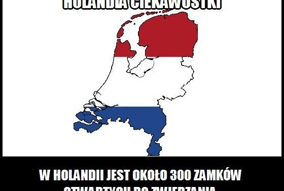 Ile w Holandii jest zamków z możliwością zwiedzania?