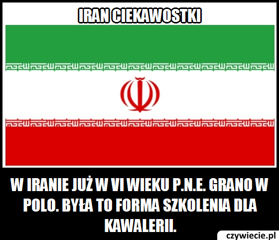 Iran ciekawostka 1