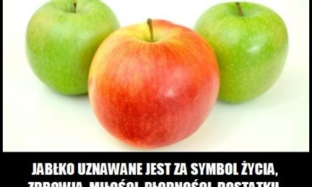 Czego symbolem jest jabłko?