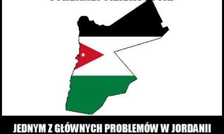 Z jakim problemem mierzą się mieszkańcy Jordanii?