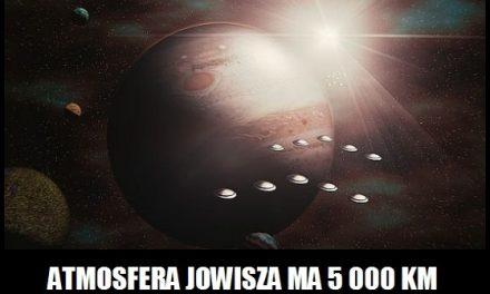 Jaką grubość ma atmosfera Jowisza?