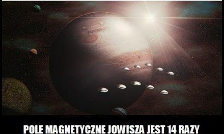 Ile razy pole magnetyczne Jowisza jest silniejsze od Ziemskiego?