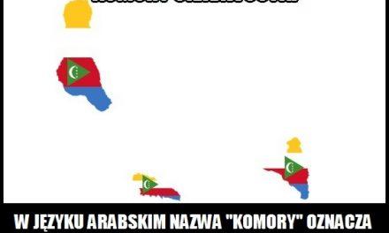 """Co oznacza w języku arabskim nazwa """"Komory""""?"""