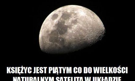 Ile jest większych naturalnych satelitów od Księżyca w Układzie Słonecznym?