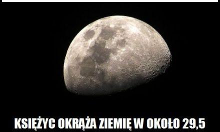 W jakim czasie Księżyc okrąża Ziemię?