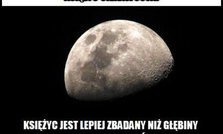 Lepiej zbadany jest Księżyc czy głębiny oceanów?