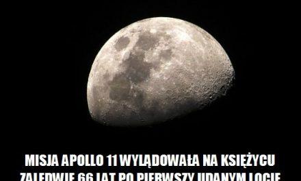 Ile lat po pierwszy locie braci Wright, człowiek stanął na Księżycu?