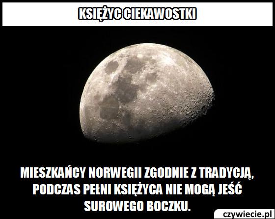 Księżyc ciekawostka 13