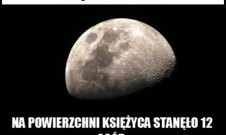 Ile osób stanęło na Księżycu?